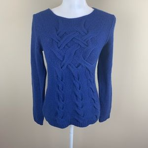 Laundry by Shelli Segal 100% cashmere knit sweater